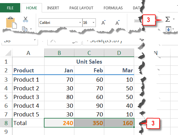 how to use sum in excel but skipping a row